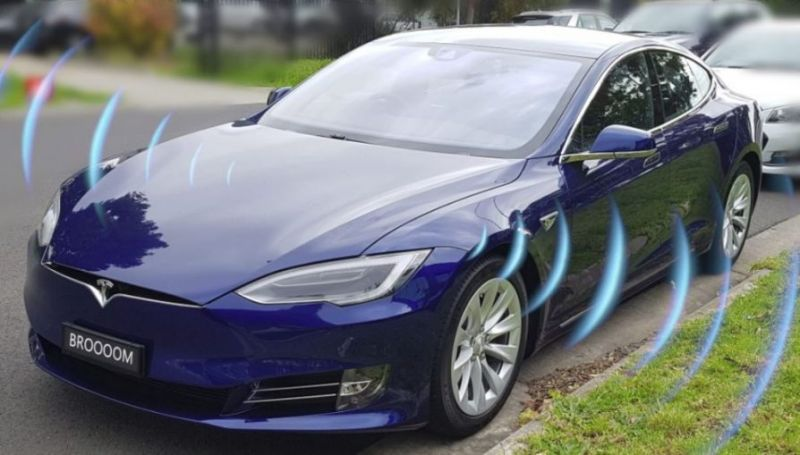 elektromobil, tiché vozidlo