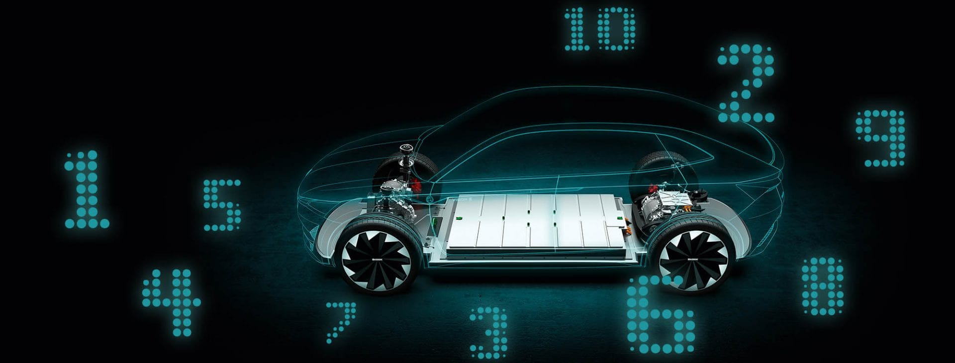 batožinový priestor, elektromobil
