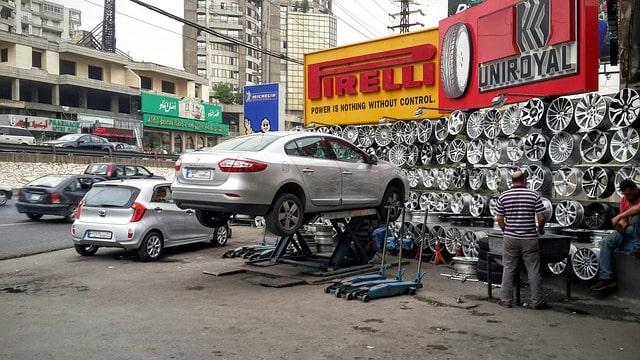 pneuservis, autoservis, oprava pneumatiky