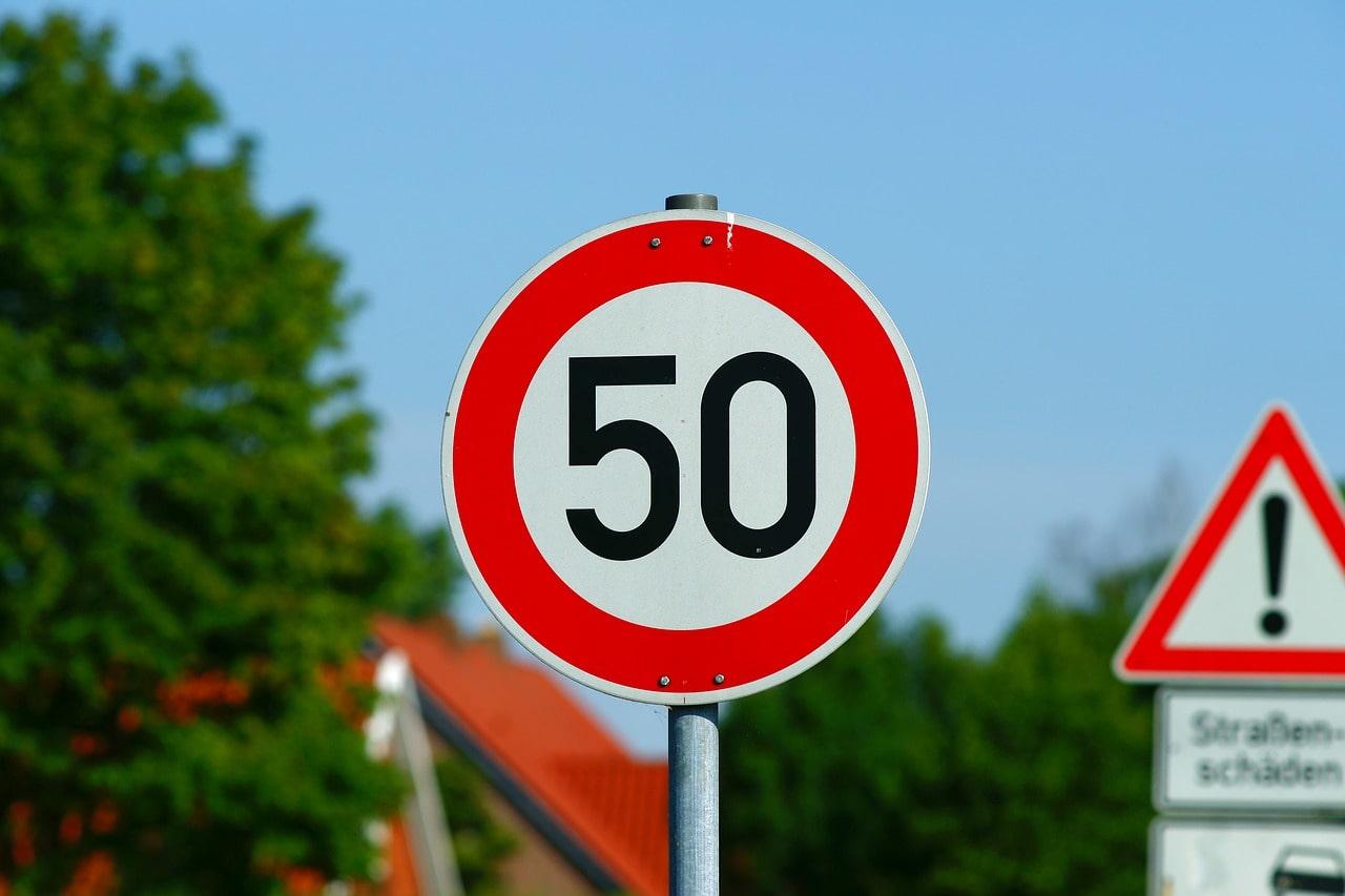 dopravná značka, dopravné obmedzenie, pokuta, radar