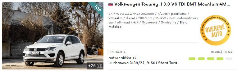 SUV, automobil, auto, športové úžitkové auto, 4x4, Volkswagen Touareg, VW