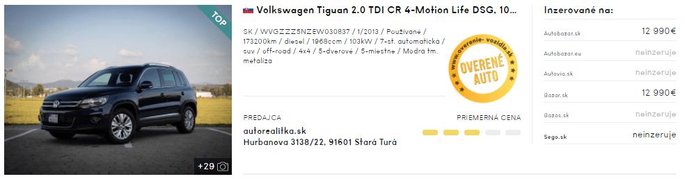 SUV, automobil, auto, športové úžitkové auto, 4x4, Volkswagen Tiguan